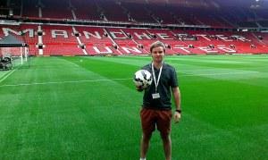 Jonathan Shepherd at Manchester United