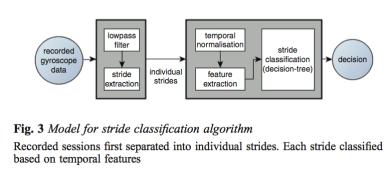 Gyroscope classifier