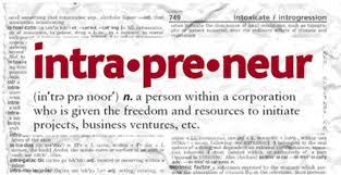 Intrapreneur, entrepreneur, startup, accelerator, incubator?
