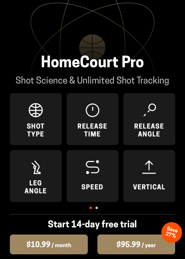 Home Court Pro Screen