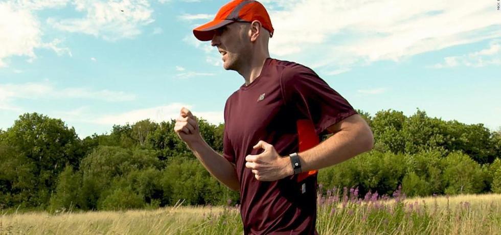 Visually Impaired Runner Simon Wheatcroft
